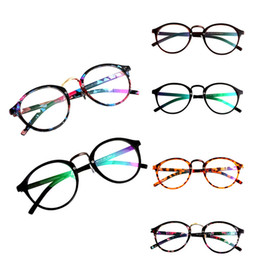 b19a9deec49 Moda Unisex Retro Vintage Round Circle Frame Clear Lens Eyeglasses  Spectacles