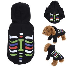 Wholesale Pet Santa - China Suppliers Christmas Halloween S M L XL Santa Costume Christmas Pet Clothes Hoodie Coat Clothing for Dog Dropshipping