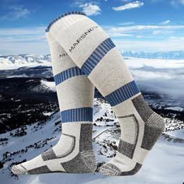 2019 chaussettes à vélo Hiver chaud Hommes thermique Chaussettes de ski épais coton Sport Snowboard Cyclisme Ski Football Chaussettes Chaussettes Thermosocks chaussettes à vélo pas cher