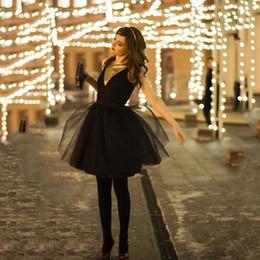 bow midi skirt NZ - Fashion 5 Layers 55cm Fashion Tulle Skirt Pleated TUTU Skirts Womens Lolita Petticoat Bridesmaids Midi Skirt Jupe Saias faldas