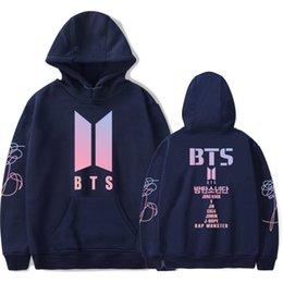 Wholesale bts album - Bts Love Yourself Women Hoodies Sweatshirts K -Pop Fans Sweatshirt New Album Dna Hoodie Sweatshirt Autumn And Winter Clothes 4xl