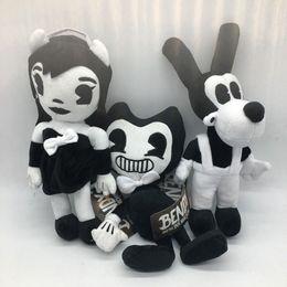2019 juguetes alicia 30 cm Bendy Boris Alice Angel Plush Doll Ink Machine Thriller Plush Doll figura rellena suave para niños juguete AAA148 juguetes alicia baratos