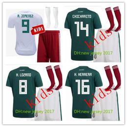 0f5ee84f28d8a kits jersey méxico Rebajas Tailandia MÉXICO NIÑOS JUEGOS DE FÚTBOL kit 2018  copa del mundo CHICHARITO