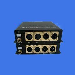 2ports вперед сбалансированный звук+2port обратная сбалансированный звук за волокна приемопередатчика, разъем XLR, сбалансированный двунаправленный аудио приемопередатчик от Поставщики оптоволоконный кабель