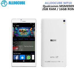 ALLDOCUBE WP10 6,98 Zoll 4G LTE Telefonanruf Tablet Windows 10 Mobile Quad Core 1,3 GHz 2 GB RAM 16 GB Kamera IPS-Bildschirm WiFi OTG GPS von Fabrikanten