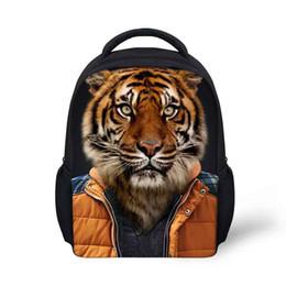 Wholesale Girl Bags For High School - new designer women bag 2018 3d animal designer backpack high quality Korean style school bag for boys and girls