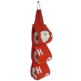 Argentina Papá Noel Juegos de Toallas Toalla de Papel Fiesta de Navidad Fiesta de Navidad Bolsas de Papel Rojo Lindo Para la Decoración Casera Suministro