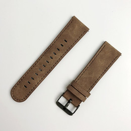 Шестерня s3 онлайн-ДЛЯ Samsung Gear S3 Frontier / Классические часы с кожаным ремешком 22 мм FOLOME Ремешок для часов California Cowboy Style Сменный ремешок