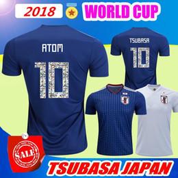Maillot de football de la Coupe du monde 2018 du Japon ATOM CARTOON NUMBER Japan 2018 Tsubasa ? partir de fabricateur
