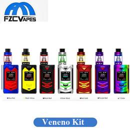 Wholesale S Original - Authentic SMOK Veneno 225W Box Mod & Full Kit with TFV8 Big Baby Light Edition Starter Kit vs SMOK S PRIV 100% Original