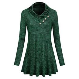 5d768ed55b6 Womens Tops and Blouses 2018 Feminina Vintage Button Long Sleeve Long Tee Shirts  Tunic Clothes Woman Korean Fashion Ladies Top ladies blouse tunic top ...