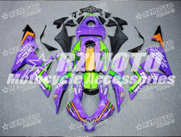 Wholesale Cbr Fairing Kit Purple - Motorcycle Fairing kit for HONDA CBR600RR F5 07 08 CBR 600RR 2007 2008 cbr600rr ABS hot red gloss Yellow Purple Fairings set+3gifts H51