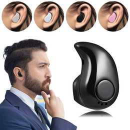 Wholesale stealth phone - Sport Running S530 Mini Stealth Wireless Bluetooth 4.0 Earphone Stereo Headphones music Headset for iphoneX iphone 8 For Samsung