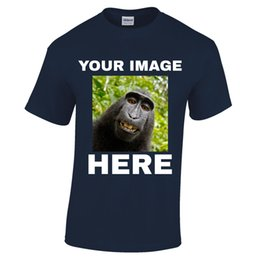 Ваше изображение фото фотография здесь пользовательские персонализированные печатные футболки печать олень смешно бесплатная доставка мужская повседневная футболка cheap picture images photos от Поставщики фотографии с картинками