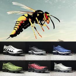 Wholesale Big Savings - Big Save 2018 New Vapormax TN Plus VM In Metallic Olive Women Men Running Shoes Designer Luxury Shoes Sneakers Brand Trainers