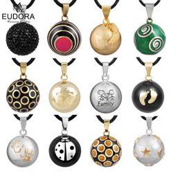 Подвесной шарик онлайн-Retail Eudora Pregnancy Ball Jewelry Gift Chime Ball Mexican Bola Belly Sounds Pendant Harmony Bola Pendants Necklace Gift