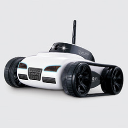 Wholesale Remote Controlled Electric Toy Tanks - Rc Car With Camera 777 -270 Wifi Remote Control Toy Tank Fpv Camera Support Ios Android Iphone Ipad Ipod Controller Gift Fswb