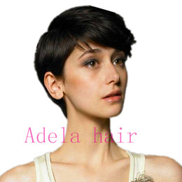 Rabatt Pixie Cut Bangs 2019 Pixie Cut Bangs Im Angebot Auf De