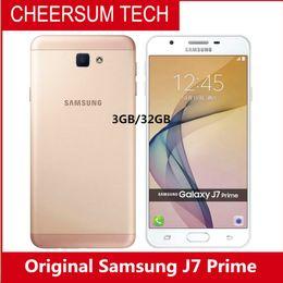 2019 новый мобильный телефон samsung galaxy Новый оригинальный Samsung Galaxy J7 Prime G610YD мобильный телефон 5.5