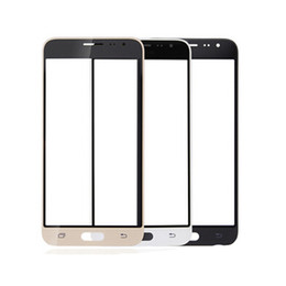 Wholesale Touch Screen Phone Replacement Glass - 50PCS Front Outer Touch Screen Glass Replacement for cell phone Samsung Galaxy E5 E7 J3 J5 J7 free DHL