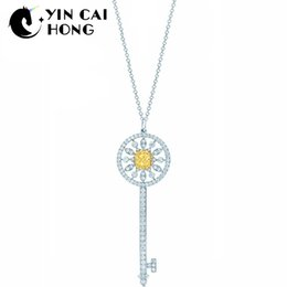 c26b1083449 YCH Charm Gift 925 Sterling Silver Sun Attractive Elegance Temperament  Necklace World Jewelry