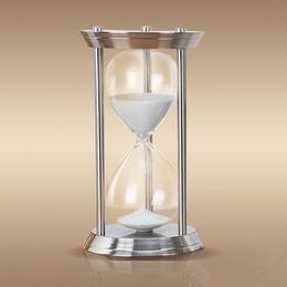 temporizador de calidad Rebajas Reloj de arena de arena de reloj de arena de alta calidad de 1 hora Reloj de arena de 60 minutos Reloj de arena grande El reloj de arena Sablier La clessidra Die sanduhr