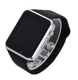 DHL bateau rapide A1 montre-bracelet Bluetooth Smart Watch Sport Podomètre avec caméra SIM Smartwatch pour Android Smartphon bon que DZ09 ? partir de fabricateur