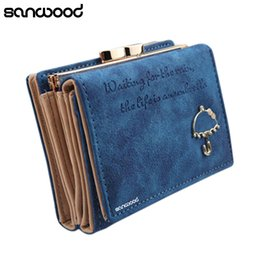 Wholesale Blue Umbrella Short - 2016 Women Umbrella Faux Leather Clutch Trifold Wallet Credit Card Holder Carteira 9IJW