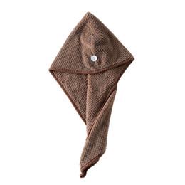 2018 toalha de secagem Rápida toalha de secagem rápida toalha baotou adulto touca de banho para mulher Chuveiro Banho Adulto Cap Hat Para Banhos YF de