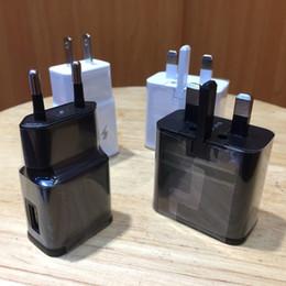 cargadores de coche del teléfono celular de la galaxia Rebajas Excelente calidad de cargador de pared 5V 2A 9V 1.67A Cargador de viaje de carga rápida adaptable para S6 S8 Plus