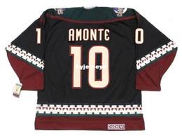 phoenix hockey jersey 2018 - custom Mens TONY AMONTE Phoenix Coyotes 2002 CCM Vintage Cheap Retro Hockey Jersey