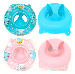 Wholesale Toy Tub - Ring baby seats bathing toy float toy grooming inflatable seat swim summer tub baby bath spa elephant swim ring