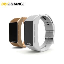 Wholesale Golden Earphones - 2018 New JAKCOM Smart Band B3 Talkband Bracelets OLED Screen Touchpad Pulse Heart Rate Step Time Bluetooth Earphone Universal For Smartphone