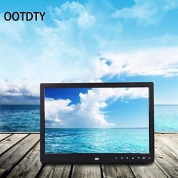 lecteur de films pc Promotion OOTDTY 1 PC 13 '' HD LED Cadre Photo Numérique Album Horloge Calendrier MP3 / 4 Movie Player