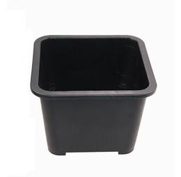 Wholesale Plastic Flower Arrangements - Wholesale 50PCS MOQ Free Shipping Plastic Sturdy Black Drainage flower Pot for Succulent Series Arrangement Plant, Plastic flower Pot