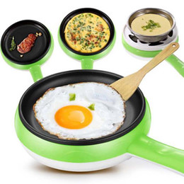Wholesale Boiler Electric - Multi-Function Mini Egg Boiler Home Thermostat Saving Time And Electricity Electric Frying Pan Breakfast And Steam Egg Machine