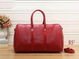 red new fashion men women travel bag duffle bag 9e5ffebb9aa2d