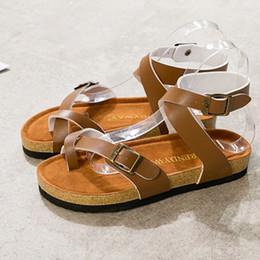 01608dda3 arizona sandals Coupons - Hot Fashion Arizona Women s Flat Heel Ankle-Wrap  Sandals Spring Summer