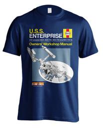 Argentina Star Trek Haynes Enterprise Manual camiseta oficial para hombre unisex Suministro