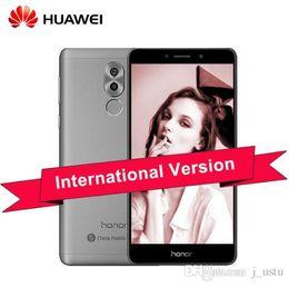 Wholesale Global Tv - New Original Huawei Honor 6X Global Firmware 4G LTE Mobile Phone Kirin 655 Octa Core Dual Rear Camera 5.5'' 3GB 4GB RAM 32GB 64GB