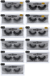 extensions for hairs Promo Codes - 3d Mink lashes 100% Thick real mink false eyelashes natural for Beauty Makeup Extension fake Eyelashes false lashes