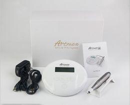 Argentina 2019 Venta caliente más reciente PMU + MTS máquina de maquillaje permanente V6 dermapen eléctrico digital ceja pluma tatuaje máquina Suministro