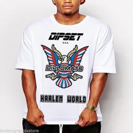 Canada T-shirt Hip Hop, Dipset, T-shirt en coton de la côte est de la côte ouest Offre