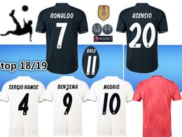 2018 Real Madrid home away jersey 2019 ASENSIO Soccer jersey MODRIC LUCAS V  MORATA BALE KROOS ISCO BENZEMA football shirts Camisa new jersey lucas v  morata ... 0222e193f