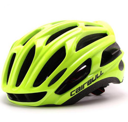 road bike helmet for women Promo Codes - Road mountain bike riding helmet super light integration molding bicycle helmets 57-63 cm for men and women
