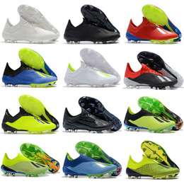 finest selection f87de e646e 2019 tacos verdes de fútbol 2018 Copa del Mundo ACE 18.1 Speedmesh Botines  de fútbol Nemeziz