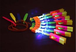 tir à lame en gros Promotion Hélicoptère Flèche Flèche Copter Flash Hot avec Neon LED lumière nouveau lot de jouets pour 2 articles.