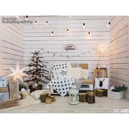 7X5ft Vinile fantasia decorazione natalizia per foto di famiglia studio fotografico ritratto sfondo fotografico ST-680 da