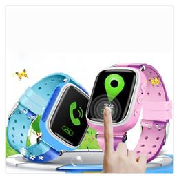 Анти-потерянные смарт-часы браслет GPS Tracker SOS Call Location Finder для детей Дети совместимы для iPhone смартфонов сенсорный экран от