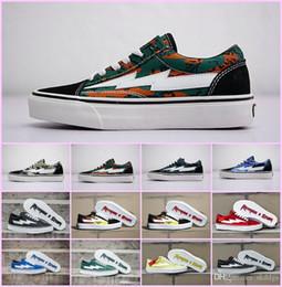 Yezee Calabasas Estilista Ian Connors Revenge X Storm Sneakers kanye west calabasas Calzado Casual Hombres Mujeres Zapatos Cuatro Colores Al Por Mayor EUR36-45 desde fabricantes